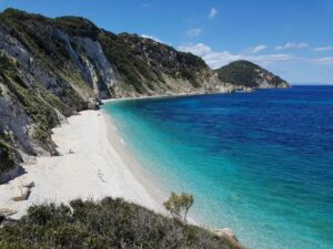 spiaggia sansone mare isola elba