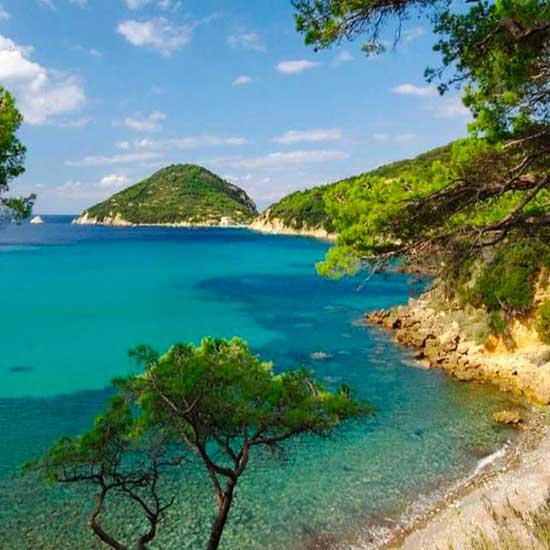 Scorcio dell'Isola d'Elba