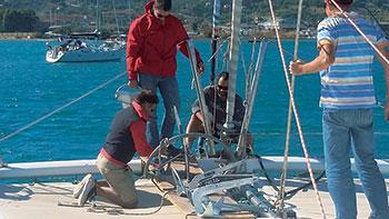 Corso Skipper MadMax a bordo
