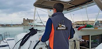 Corso Skipper MadMax al timone