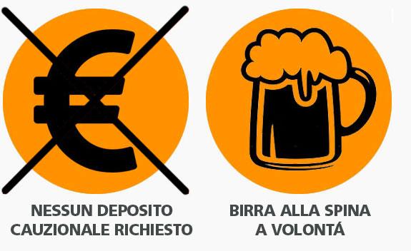 Nessun Deposito Richiesto + Birra a Volontà