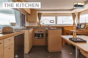 catamaran internal kitchen