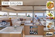 catamaran indoor salon