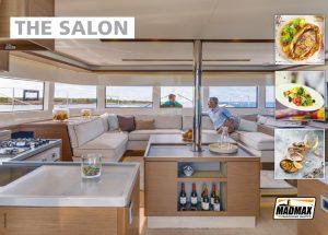 catamaran indoor salon