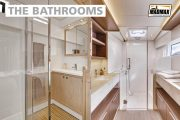 catamaran indoor bathroom