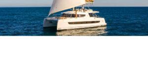 catamarano Bali 4.6 in navigazione